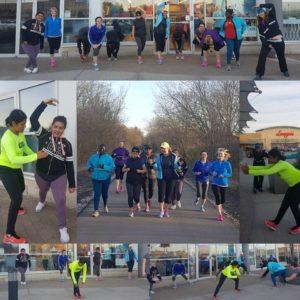 Learn to Run/5km & 10km run clinics at the York Mills Running Room.
