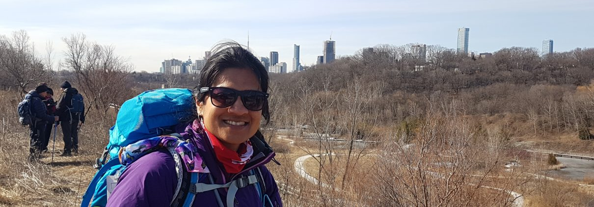 first hike March 23, 2018