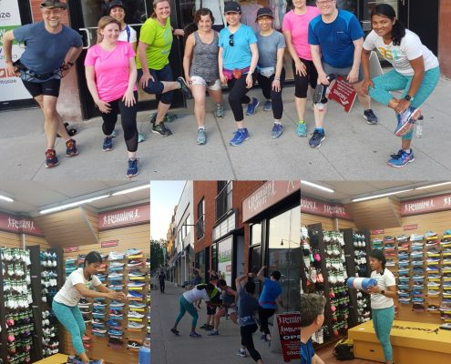 Tues May 29, 2018 10km Yonge St clinic talk